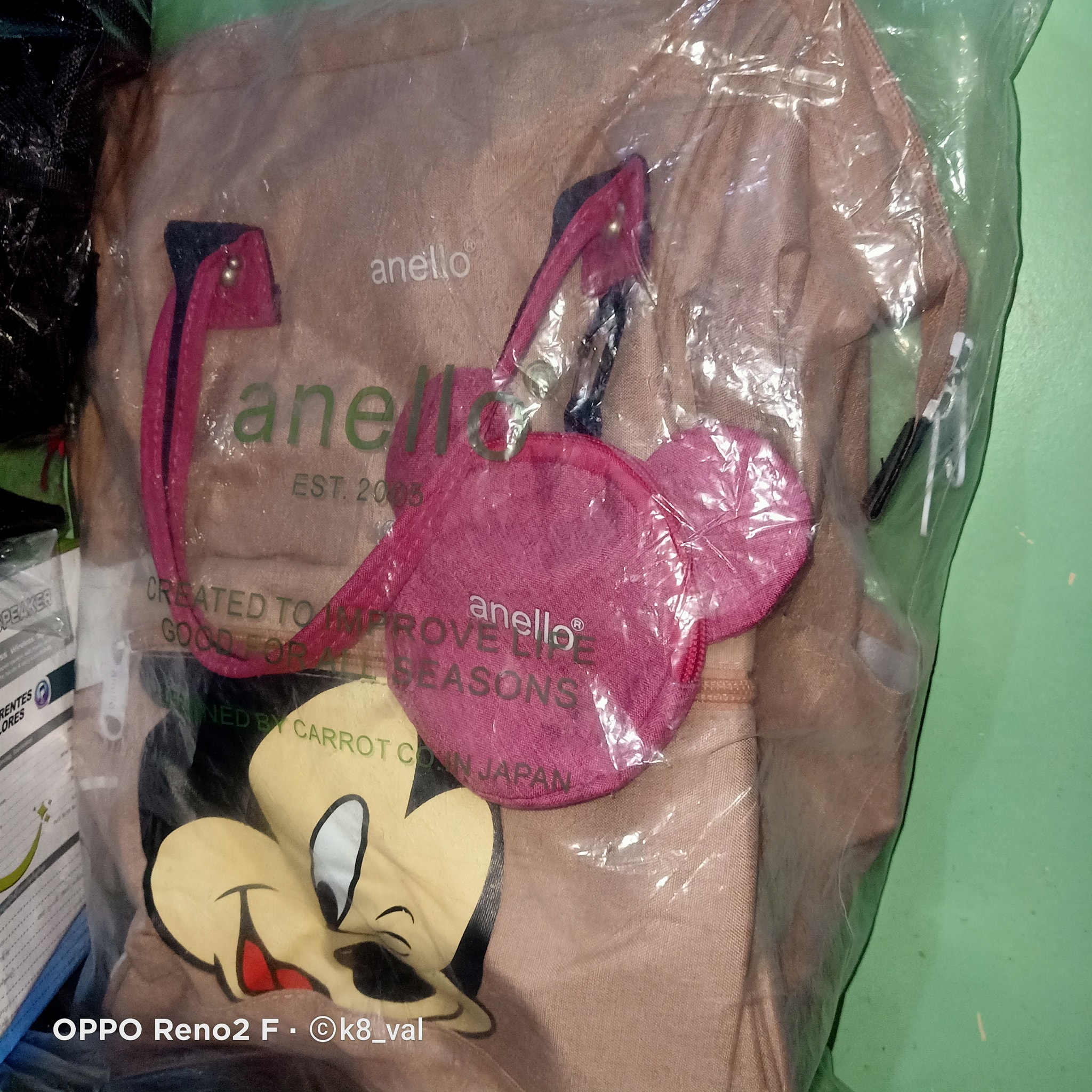 MICKEY MOUSE ANELLO RUCKSACK BAG photo