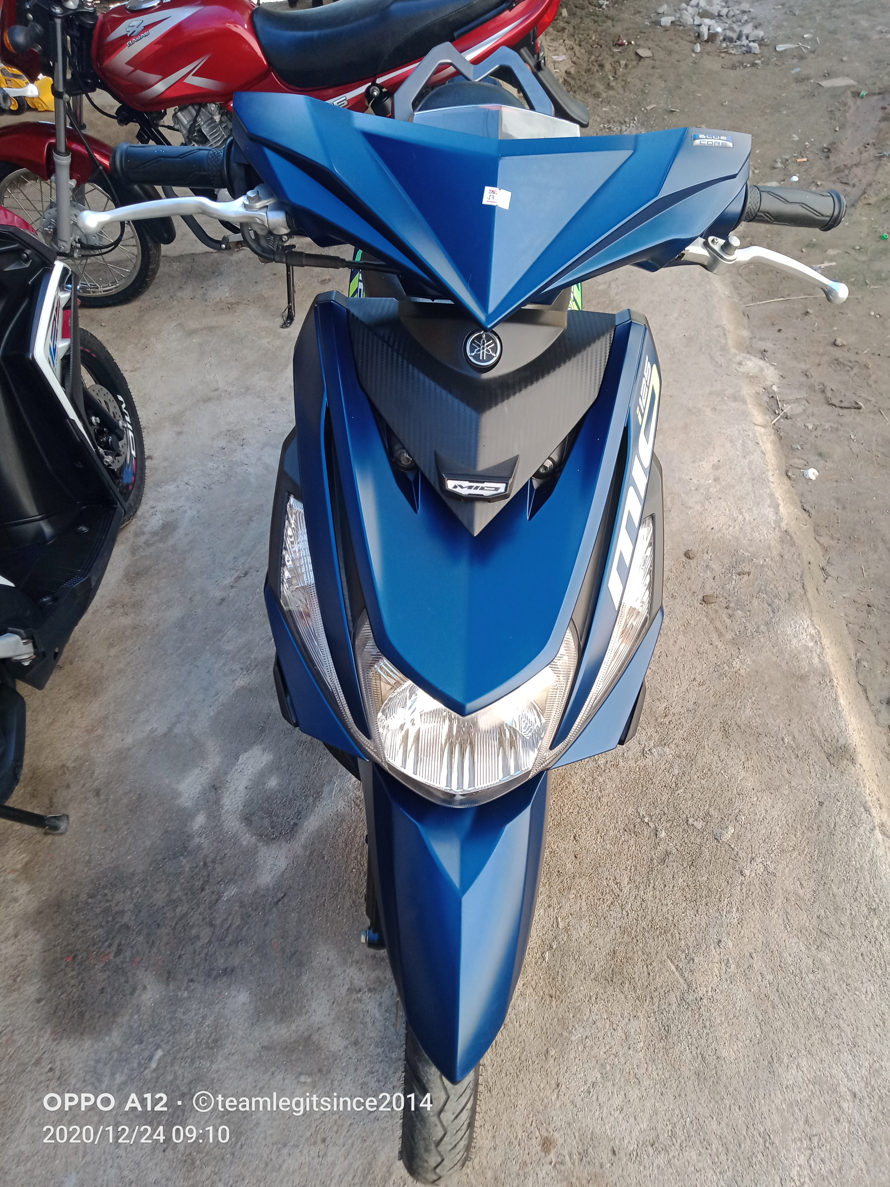YAMAHA MIO I 125 2019 MODEL MATTE BLUE photo
