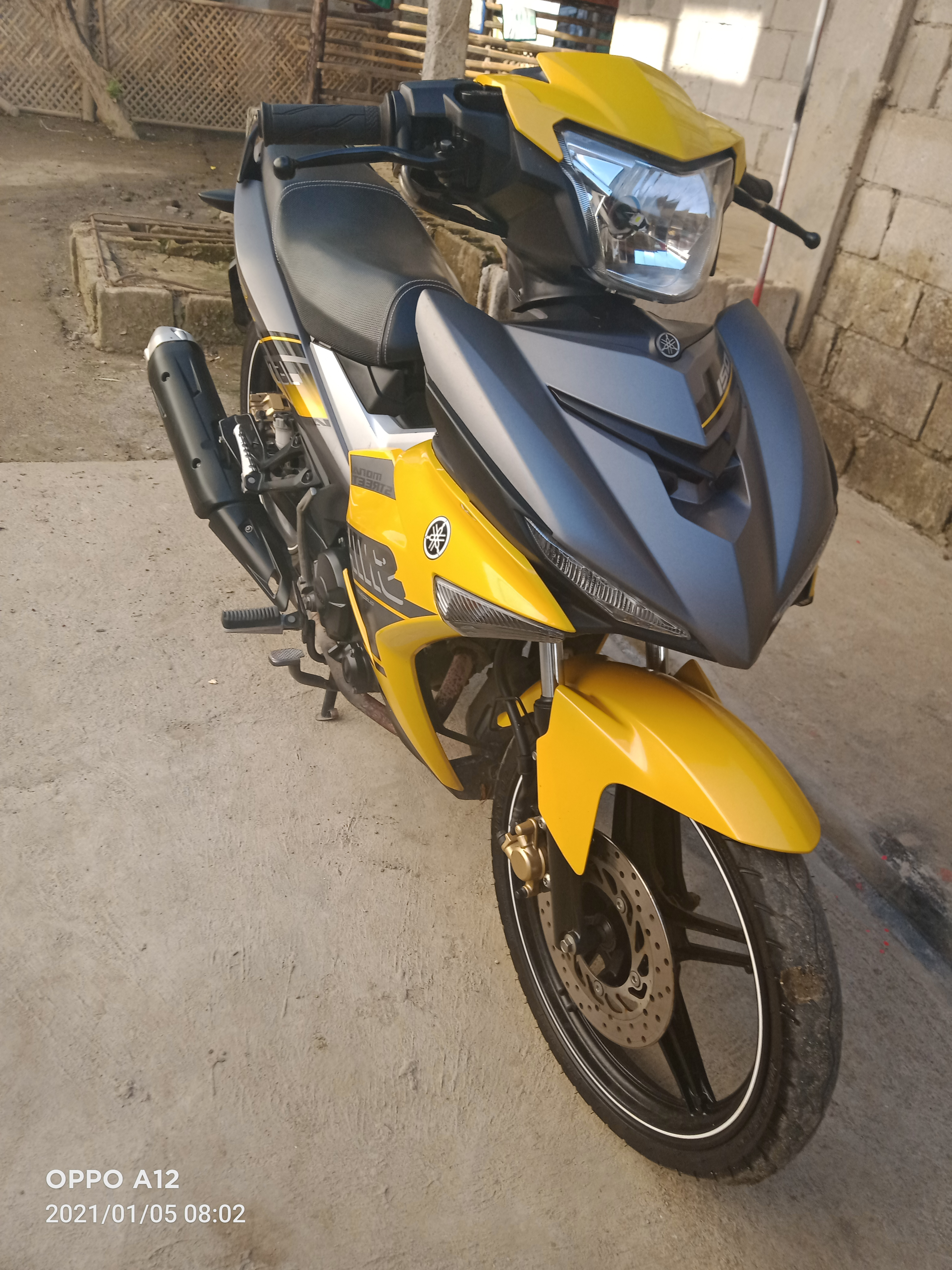 YAMAHA SNIPER KING 150 2017 MODEL YELLOW HORNET photo