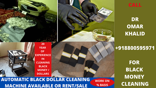 BLACK DOLLARS CLEANING CHEMICALS photo
