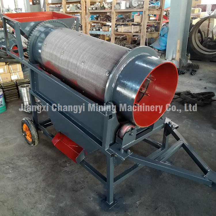 Chinese Factory Heavy Duty Trommel Screen, Mini Gold Washing Trommel Screener photo