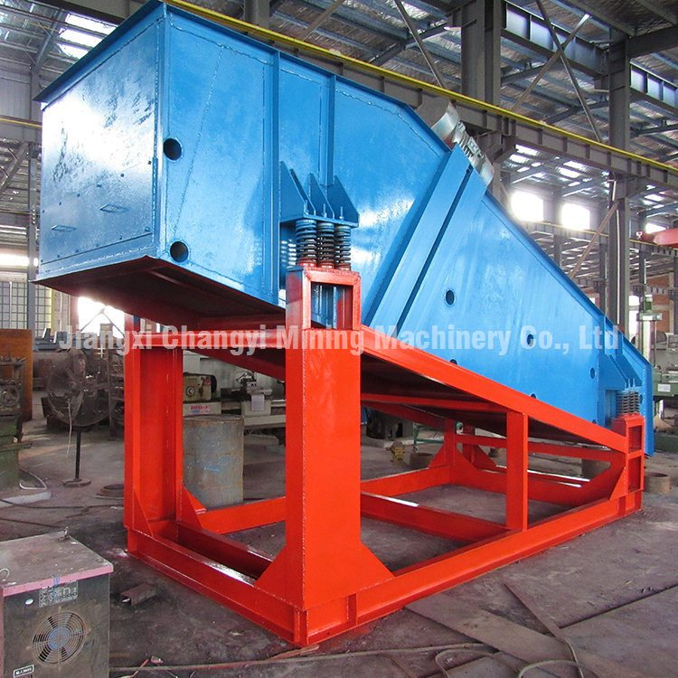 Vibration Screen Sieve for Chemicals Industry, High Frequency Vibrating Screen Machine for Mineral photo