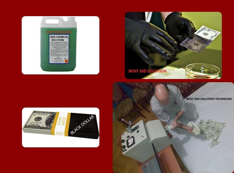 BLACK DOLLARS CLEANING CHEMICAL photo