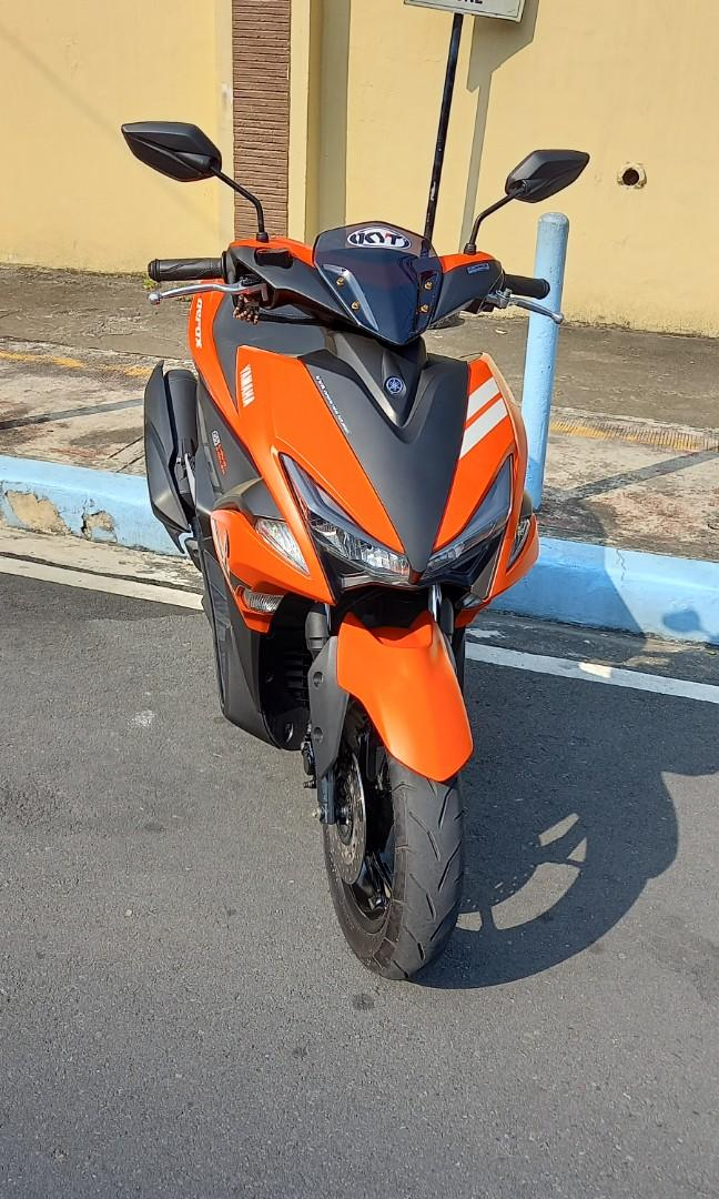 Yamaha aerox 2020 photo