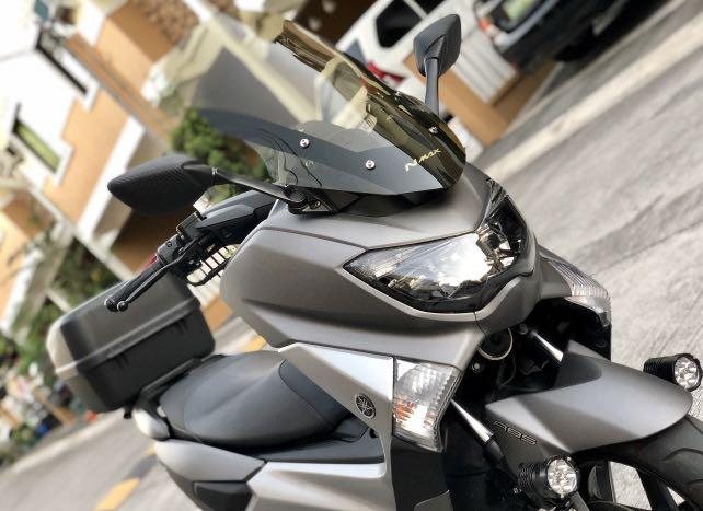 2019 Yamaha Nmax with ABS gray photo